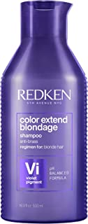 Redken Color Extend Blondage Shampoo Professionale | Capelli Biondi | Pigmenti viola per capelli biondi, deterge delicatam...