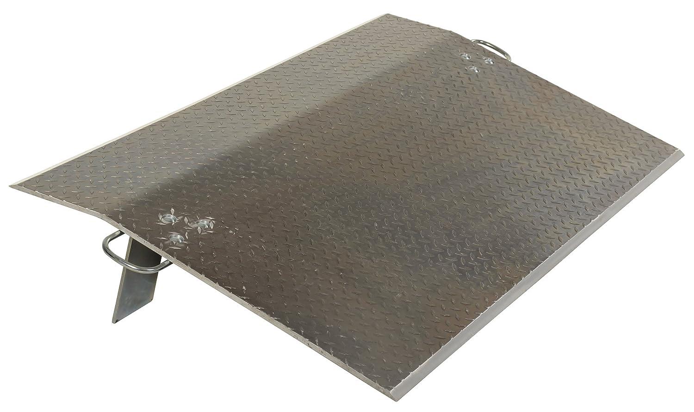 Vestil Economizer Dockplate Japan Maker New - Aluminum 36in Ranking TOP17 300-lb. 5 Capacity
