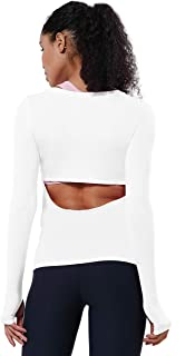 BUBBLELIME 5 Styles Women's Batwing/Tie Front Basic T Shirt Crewneck Soft Stretchy Breathable Loose Yoga Tunic Tops Casual