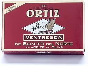 8 Pack of Ortiz Ventresca White Tuna Belly in Oil