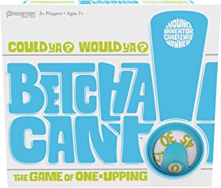 Pressman Betcha Can`t Card Game - The Fast-Paced Game of One-Upping