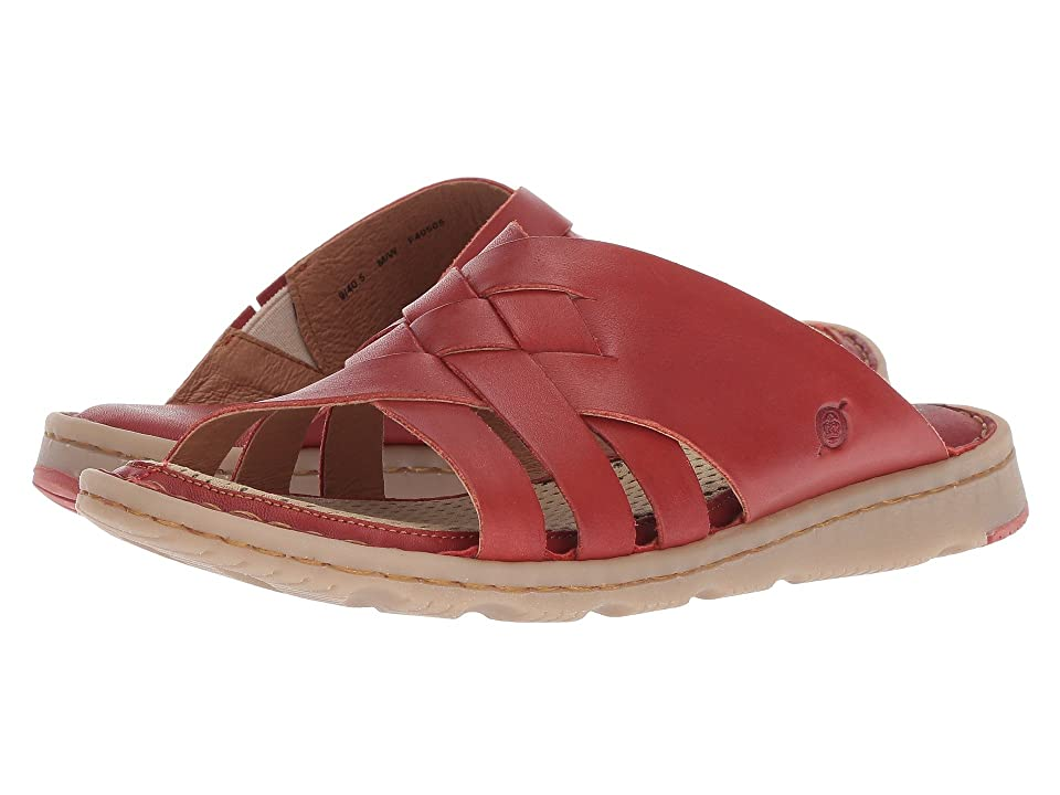 Born Tarpon (Red Full Grain Leather) Women