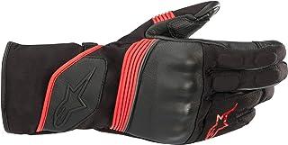 Alpinestars Guantes de moto Valparaiso V2 Drystar Gloves Black Bright Red, Black Bright Red S