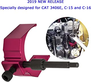 For Caterpillar Injector Height Adjustment Gauge Tool CAT Engine Tool As 9U-7227 Fits CAT 3406E, C-15 and C-16 (Red)