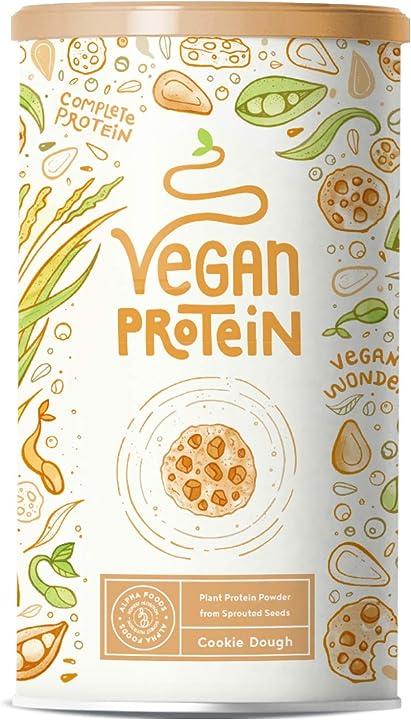 Proteine vegane gusto biscotto cookie dough - 600 grammi AF-126