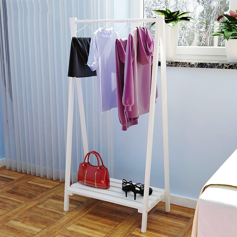 Solid Wood Coat Rack Floor Coat Rack Creative Coat Rack Simple Modern Floor Bedroom Hanger (color   B)