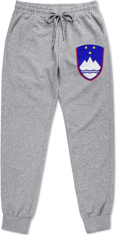 Men Sports Somalia-Seal-or-National-Emblem- Sweatpants Sale special Price reduction price Tape Grey
