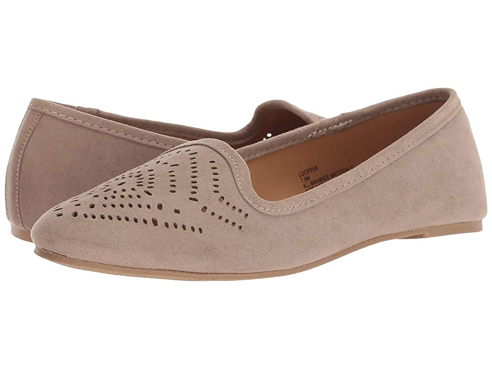 Madden Girl Loopper (Taupe Fabric) Women