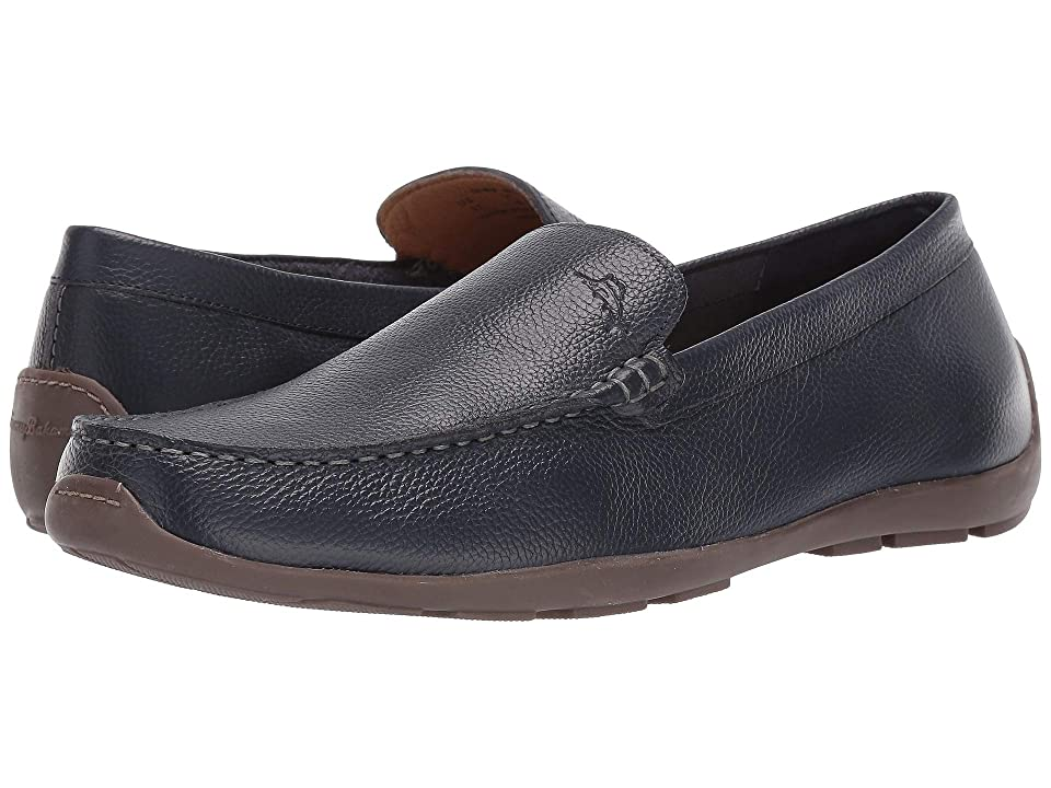 Tommy Bahama Acanto (Navy Tumbled Leather) Men