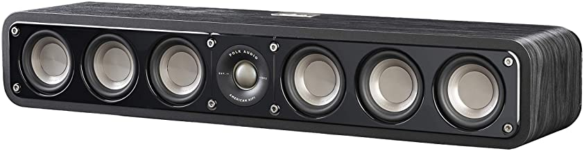 Best Polk Audio Signature Series S35 Center Channel Speaker (6 Drivers) | Surround Sound | Power Port Technology | Detachable Magnetic Grille Review
