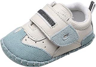 9f7ba2b16c774 Cloud Kids Chaussures Bébé en Cuir Souple Premier Pas Chausson Cuir Bébé  Fille Chaussure Bébé Garçon