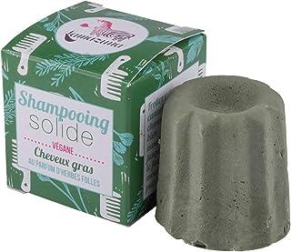 Lamazuna Champú sólido de Hierbas Salvajes para cabellos grasos 1 Unidad 60 g