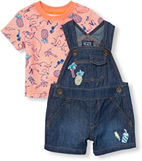 The Children's Place boys Overalls Overalls