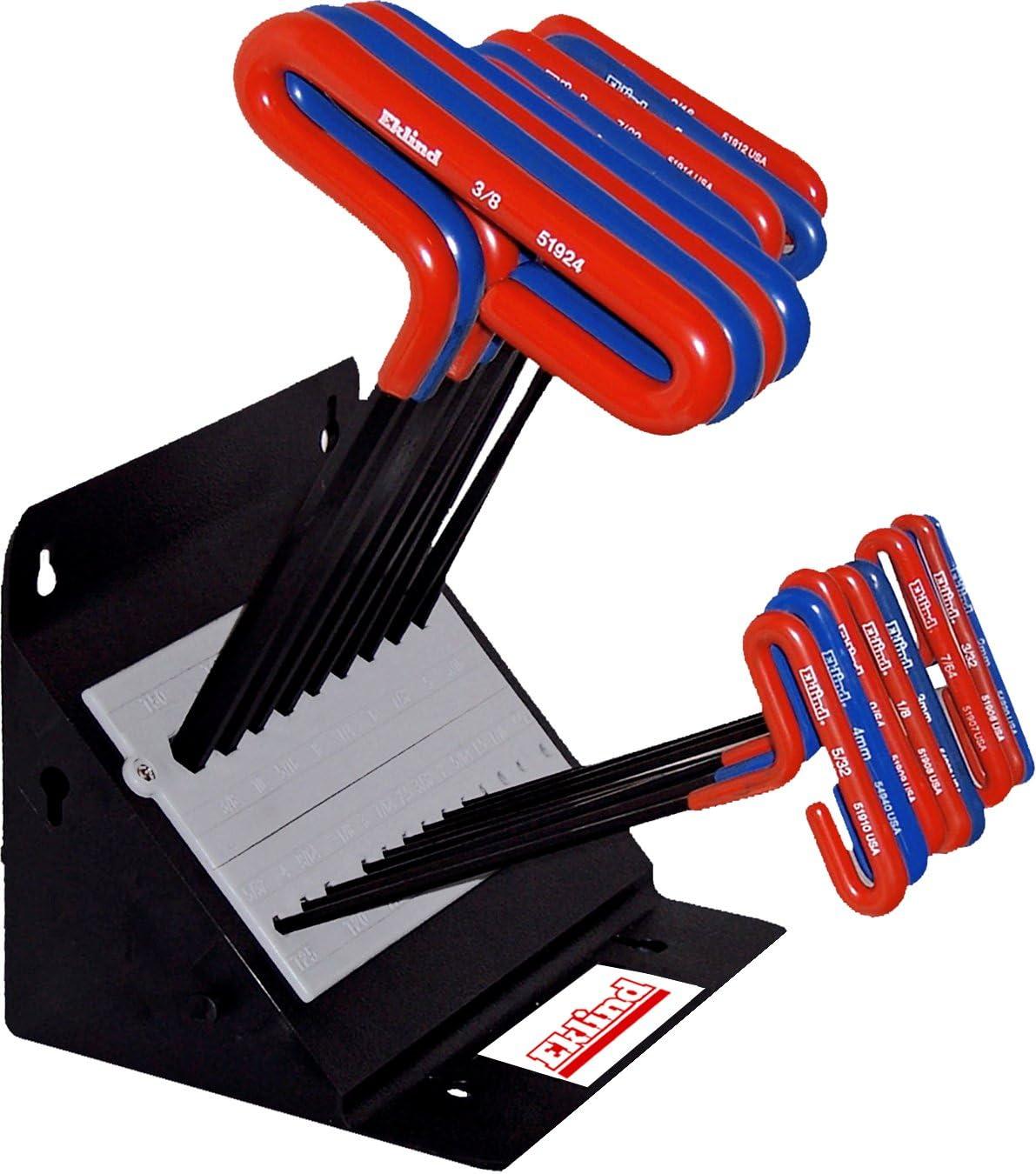 EKLIND 50918 9in Inch Hex Allen wrench T-Handle Key Combo