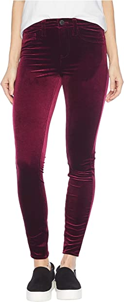 The Great Jones Velvet High-Rise Skinny in Identity Crisis