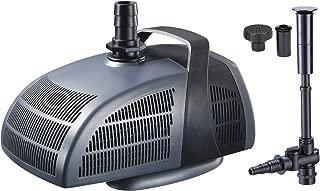 Jebao PF4000 - Bomba de agua para estanque (accesorios de fuente, 4,000 l/h)