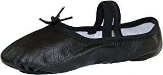 Danzcue Adult Split Sole Leather Ballet Slipper