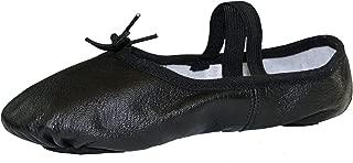 Adult Split Sole Leather Ballet Slipper