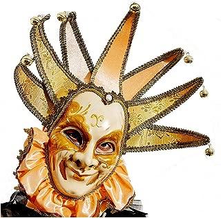 Full Face Venetian Masquerade Mask for Women or Men