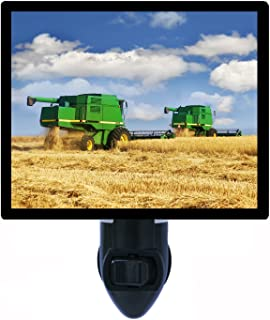 Country and Farming Night Light, in The Field, Combines