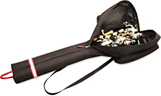 Rapala Double Barrel 40 Ice Rod Bag, Black/Red