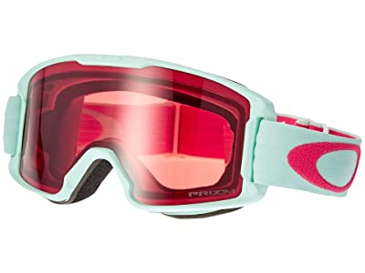 Oakley Line Miner (Youth) (Jasmine Red/Prizm Snow Rose) Snow Goggles