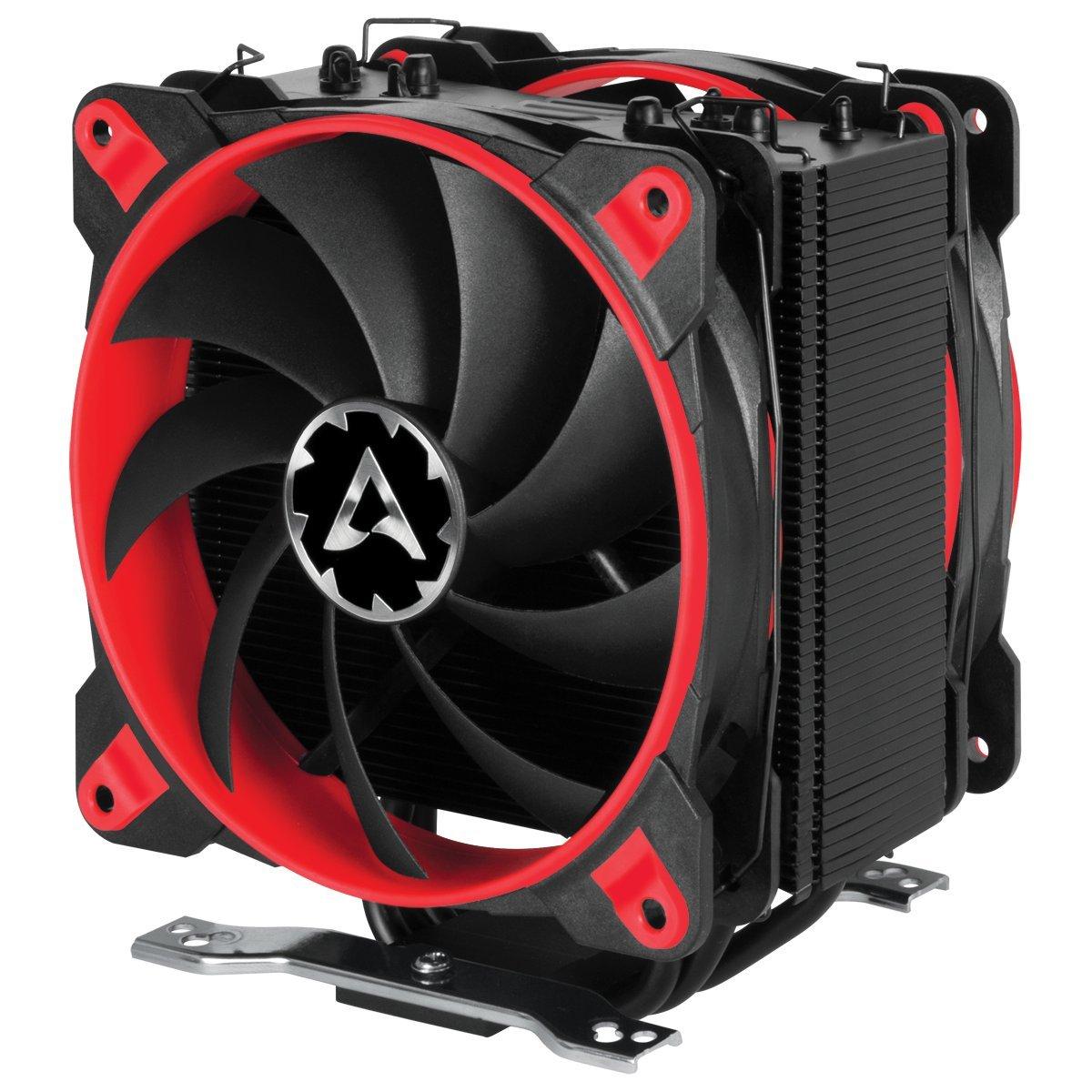 Arctic Freezer 33 Esports Edition - Ventilador para Caja de Ordenador I 2 Ventiladores de 120 mm I 200 a 1 800 RPM I Muy silencioso - Rojo: Amazon.es: Informática