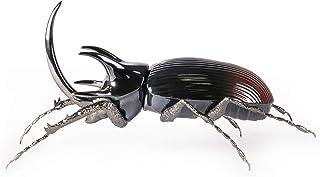 LLADRÓ Figura Escarabajo Rinoceronte. Figura Escarabajo de Porcelana.
