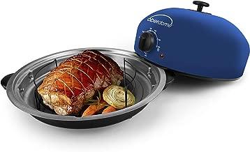 EaZy BrandZ EZO-1010BL oberdome Countertop Electric Roaster Oven with domelok Heat Technology, Standard, Blue