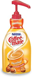 Liquid Coffee Creamer, Hazelnut, 1.5 Liter Pump Bottle, 2/carton