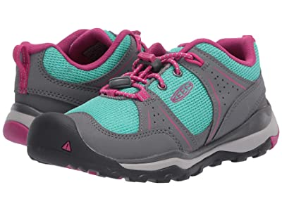 Keen Kids Terradora II Sport (Little Kid/Big Kid) (Steel Grey/Very Berry) Girl