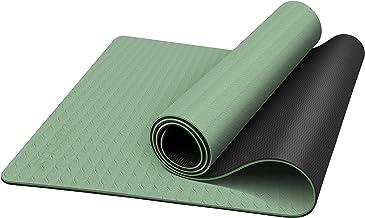 TOPLUS Yogamat, gymnastiekmat, trainingsmat, oefenmat met draagriem, antislip, goed voor beginners, bij yoga, fitness, pil...