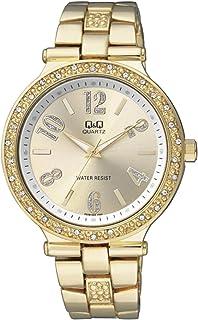 Q&Q Dress Watch Analog Display for Women F509-003Y