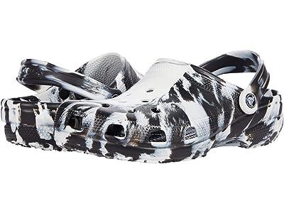 Crocs Classic Marbled Tie-Dye Clog