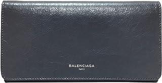 [バレンシアガ] BALENCIAGA 財布 メンズ レディース 二つ折長財布 542008 CU50N 1202 レザー グレー [並行輸入品]