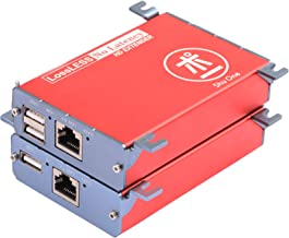 HDMI USB KVM Extender,262ft (80m) USB ethernet expension with PoC Transmitter and Receiver Over Cat5/5e/6/6e RJ45,No Signal Loss or Latency, Support AV1080P, DVR,Computer,Loptop