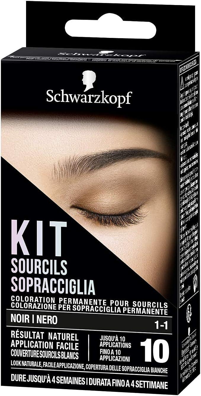 Schwarzkopf - Kit de ceja, coloración permanente para cejas ...