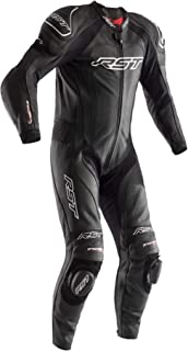 RST Tractech Evo 3 CE Leather Motorcycle Race Suit Red Size UK42,EU52,M
