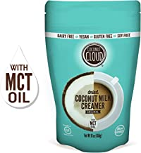 Coconut Cloud: Original Vegan Coffee Creamer | Made from Unsweetened Coconut Milk Powder + MCT OIL | Dairy Free, Plant Based, Gluten & Soy Free, (Shelf Stable, Enjoy in Recipes & Smoothies too), 16 oz