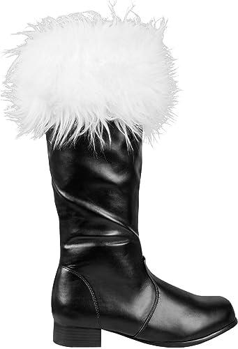 Boland 47153 - Stiefel Santa, 45, Schwarz