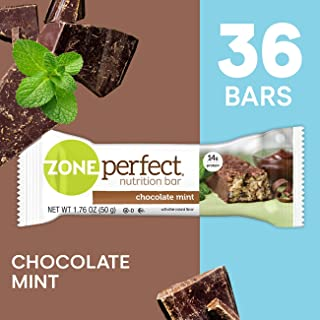 ZonePerfect Protein Bars, Chocolate Mint, High Protein, With Vitamins & Minerals (36 Count)