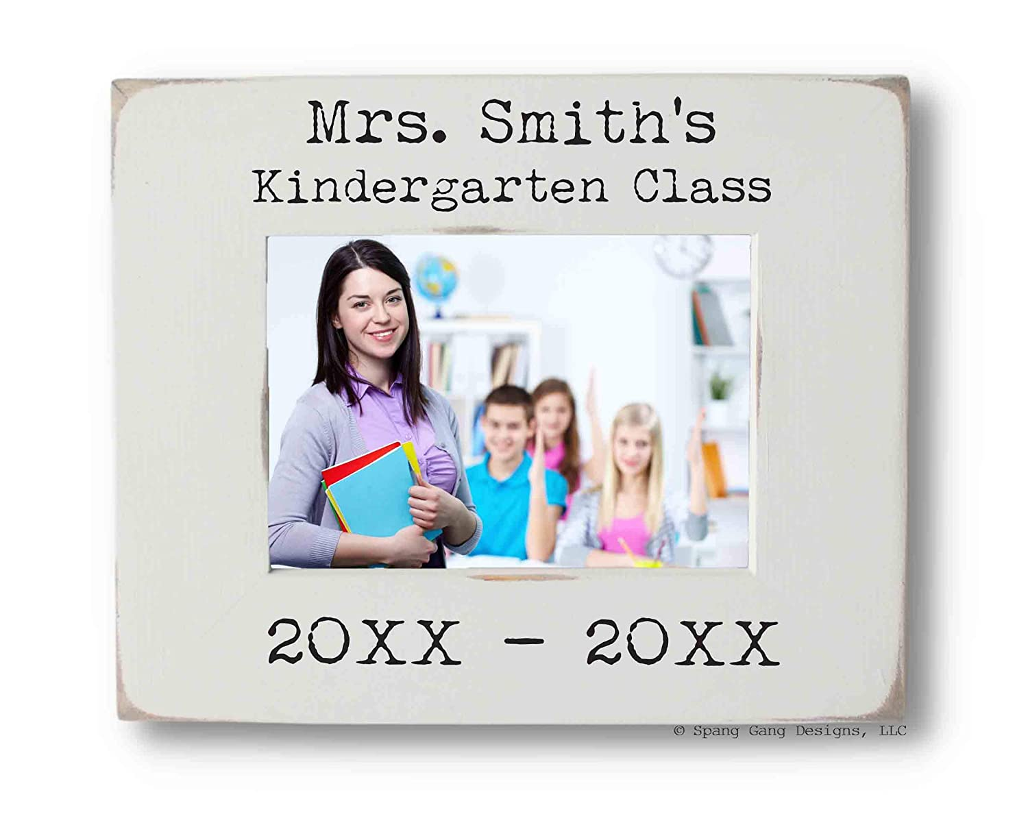 Teacher's Photo Frame In stock Personalized 4x6 fits Picture or 25% OFF