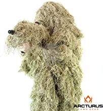 Arcturus Ghost Ghillie Suit   Super-Dense, Double-Stitched Design   Advanced 3D Hunting Gear for Men, Military, Snipers, Hunters, Airsoft