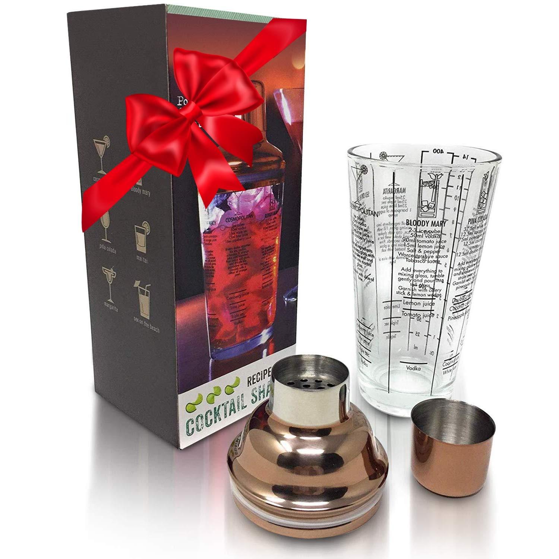 Martini Cocktail Shaker Measurements Recipes