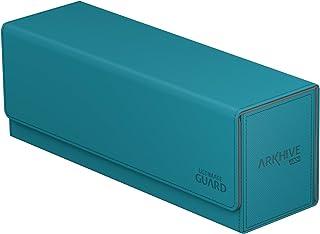 Ultimate Guard UGD010766 Arkhive Flip Case 400+ Standard Size XenoSkin Petrol Blue Accessories