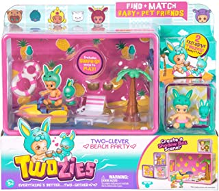 Imports Dragon Twozies Season 2 Two-Clever Beach Party with Two Exclusive Twozies Exclusifs