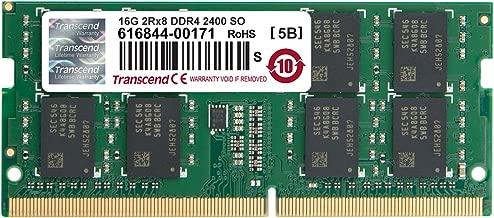Transcend 16 GB DDR4 2400 SO-DIMM Computer Internal Memory (TS2GSH64V4B)