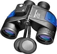 Barska Deep Sea 7×50 Waterproof Marine Binoculars with Internal Rangefinder & Compass