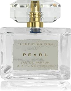 Element Edition Women's Perfume Spray - Pearl, 3.4 oz 100 ml - Calming and Relaxing Fragrance with a Blending of Peach, Rosewater, and Skin Musk - Tru Fragrance & Beauty