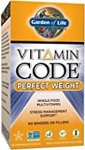 Garden of Life Multivitamin for Weight Management - Vitamin Code Perfect Weight Raw Whole Food Vitamin Supplement, Vegetarian, 120 Capsules